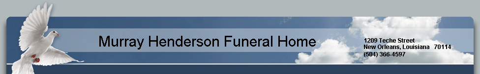 Murray Henderson Funeral Home